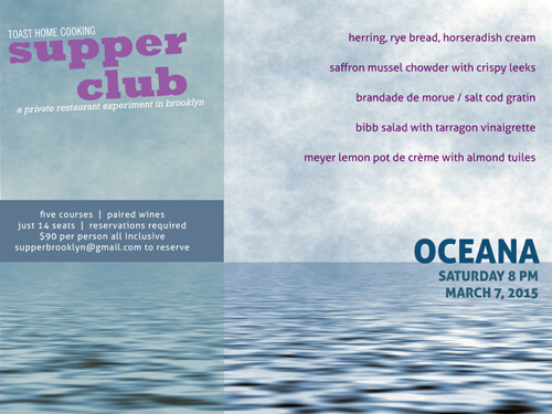 supper club march 7 in brooklyn