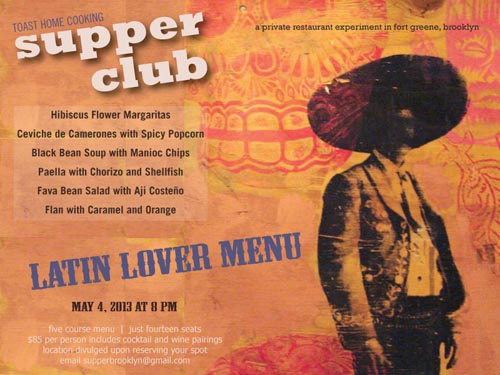 may 2013 supper club latin lovers